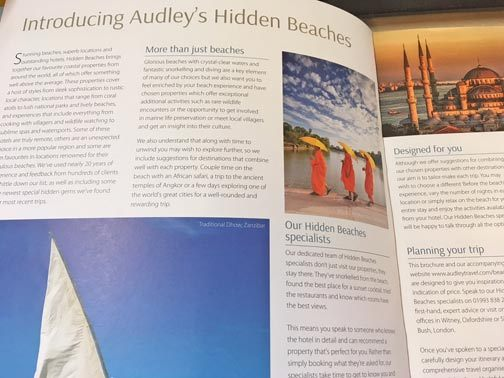 New Hidden Beaches Brochure