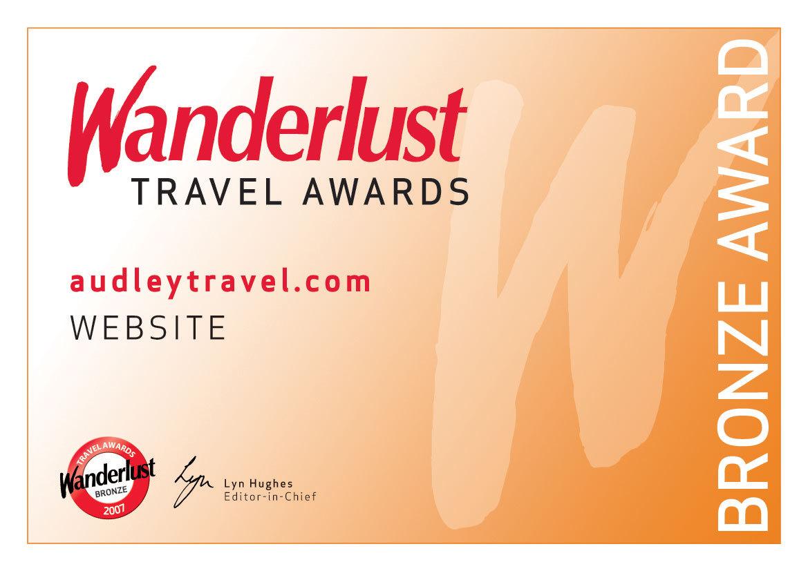 Wanderlust Bronze Award