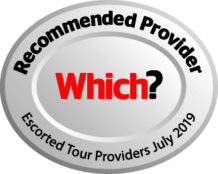 Which? Recommended Provider for Escorted Tours